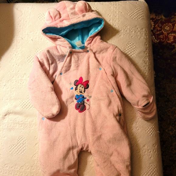 Disney baby snowsuit